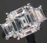 2.04ct J VS2 Asscher Cut Diamond Ring R2441