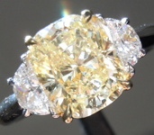 SOLD....2.01ct Y-Z VS1 Cushion Cut Diamond Ring R4220