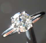 1.03ct J VS1 Old European Cut Diamond Ring R5398