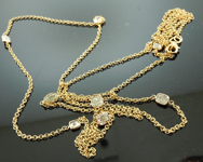 1.97ctw Natural Yellow Diamond Necklace GIA R5474