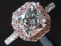1.00ct G SI2 Radiant Cut Diamond Ring R5926