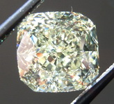 SOLD....Loose Yellow Diamond: 2.27ct U-V VS1 Radiant Cut Diamond GIA Cushion Like R7186