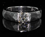 SOLD.....80ct I VS2 Old Mine Brilliant (Peruzzi) Diamond Ring R7231
