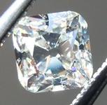 Loose Colorless Diamond: .57ct L VS2 Old Mine Brilliant (Peruzzi) Diamond GIA R7232