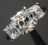 1.05ct K SI1 Cushion Cut Diamond Ring R7305