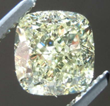 1.84ct Light Yellow VS2 Cushion Cut Diamond GIA R7365