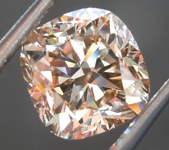 SOLD... 3.02ct Fancy Brown SI2 Cushion Cut Diamond R7472