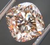 SOLD... 3.02ct Fancy Brown SI2 Cushion Cut Diamond R7472
