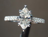 0.55ct K VS1 Marquise Diamond Ring R7935