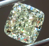 SOLD.....3.50ct W-X VS2 Cushion Cut Diamond R8174