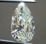 SOLD.....2.54ct M-N SI2 Pear Shape Diamond R8326