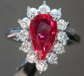 SOLD.....1.99ct Pear Shape Ruby Ring R8372