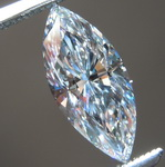 1.02ct D IF Type IIA Marquise Diamond R8684