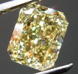 2.22ct Intense Yellow VS1 Radiant Cut Diamond R8721