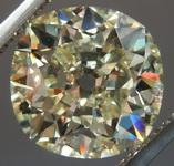 5.02ct O-P VS1 Cushion Cut Diamond R9000