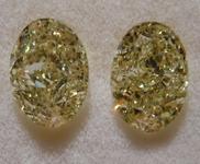 2.19ctw W-X VS1-SI1 Oval Shape Diamond Earrings R9071