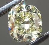 1.02ct Yellow VS1 Cushion Cut Diamond R9159