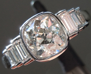 1.22ct I I1 Old Mine Brilliant Diamond Ring R9211