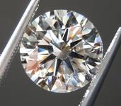 3.01ct J SI1 Round Brilliant Lab Grown Diamond R9461