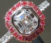 SOLD.....1.00ct F SI2 Emerald Cut Lab Grown Diamond Ring R9472