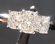 1.09ctw G-H Cushion Cut Diamond Ring R948
