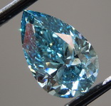 2.00ct Blue I1 Pear Shape Lab Grown Diamond R9543