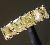 SOLD....2.18ctw Intense Yellow VS Radiant Cut Diamond Ring R9654
