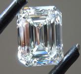 SOLD....3.38ct H VS2 Emerald Cut Lab Grown Diamond R9694