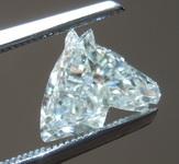 SOLD...1.17ct K SI1 Horse Step Cut Diamond R9696