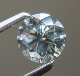 0.80ct Light Gray Round Brilliant Diamond R9697