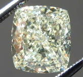 2.17ct W-X SI1 Cushion Cut Diamond R8235