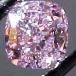 fancy purple diamond