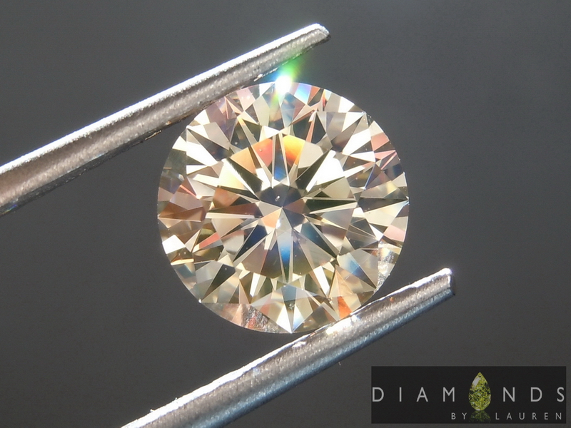 natural light brown diamond