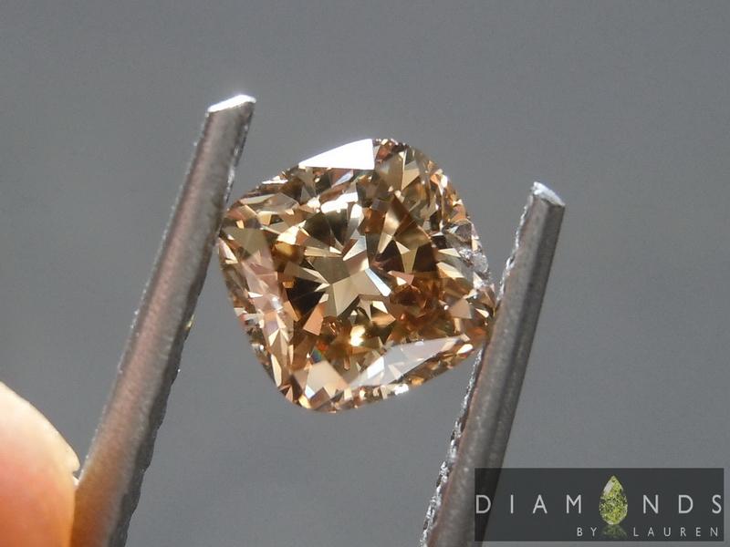 brown cut diamond