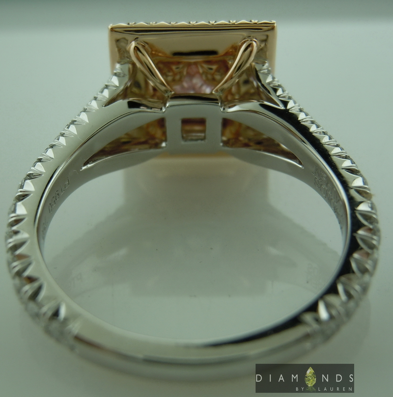 pink diamond ring ring