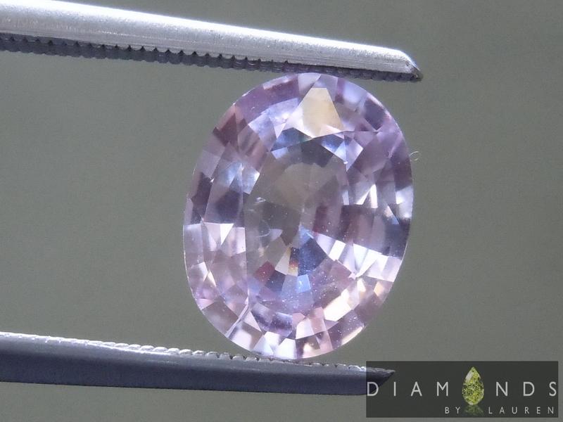 pale pink sapphire