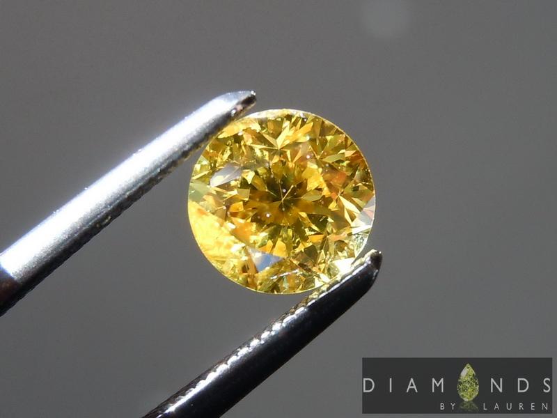vivid yellow diamonds