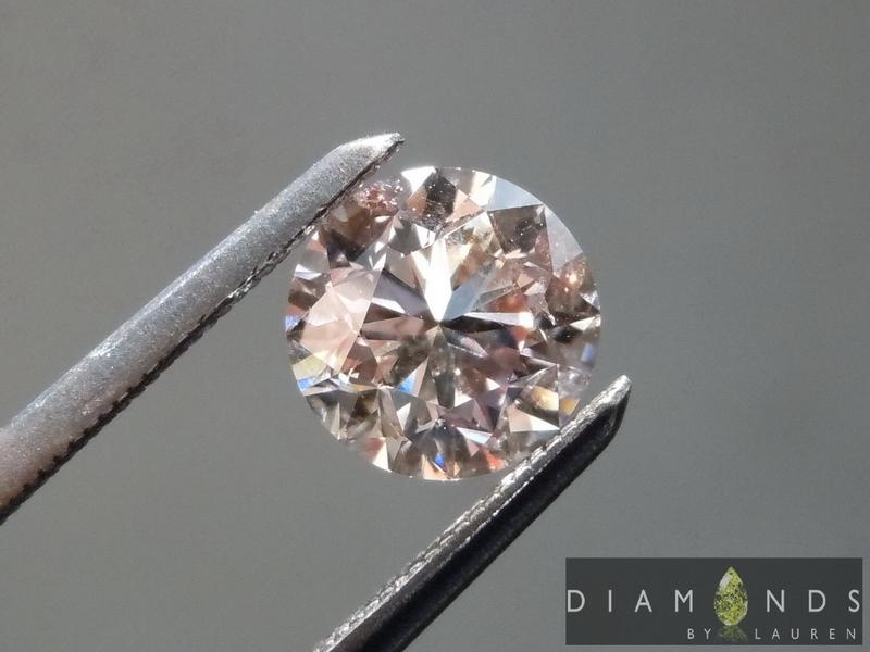 natural purple diamond
