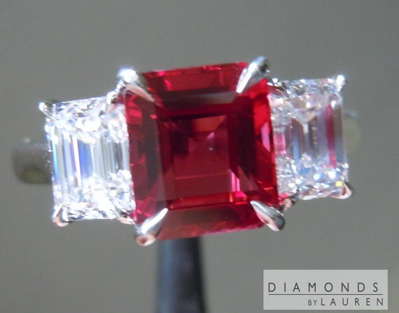 natural ruby ring