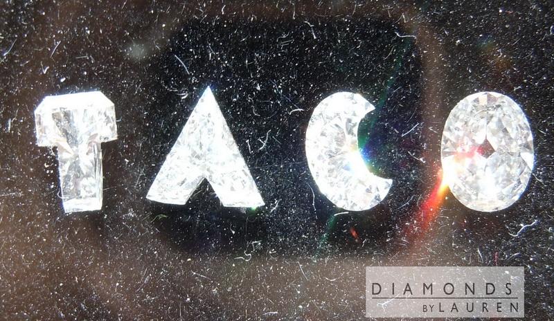 diamond letters
