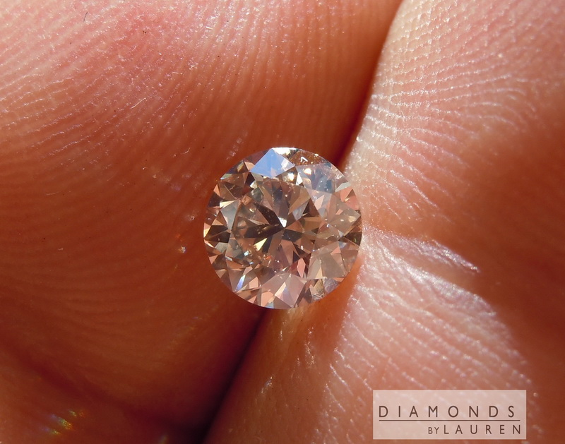 brown oval shape diamond