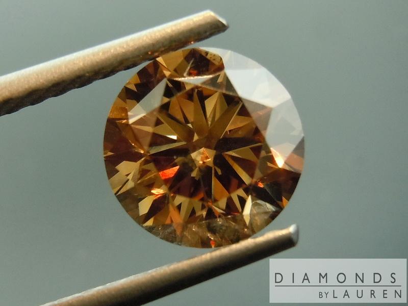 natural brown diamond