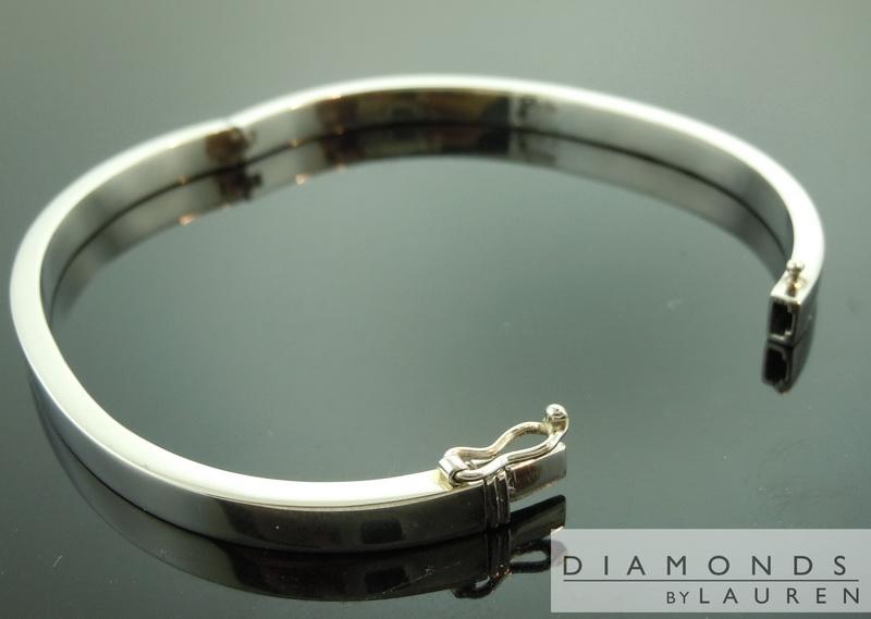 Platinum Bangle | Hinged Bangle | Platinum Bracelet