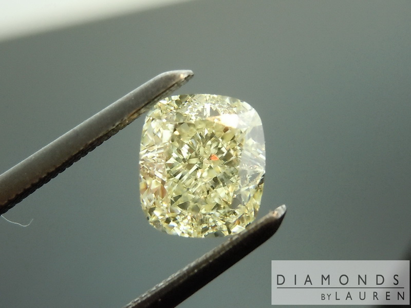 canary yellow diamond