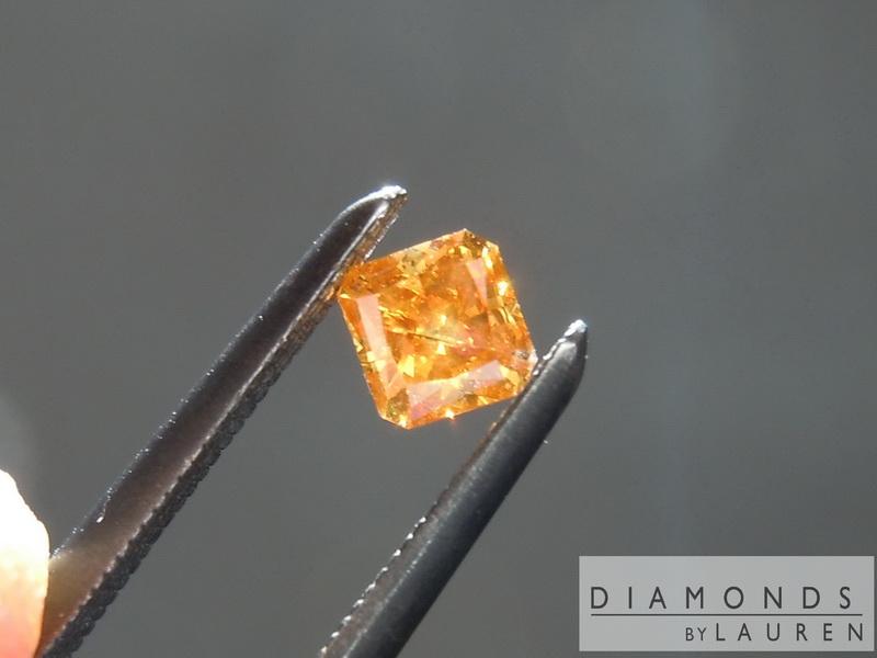 orange diamond