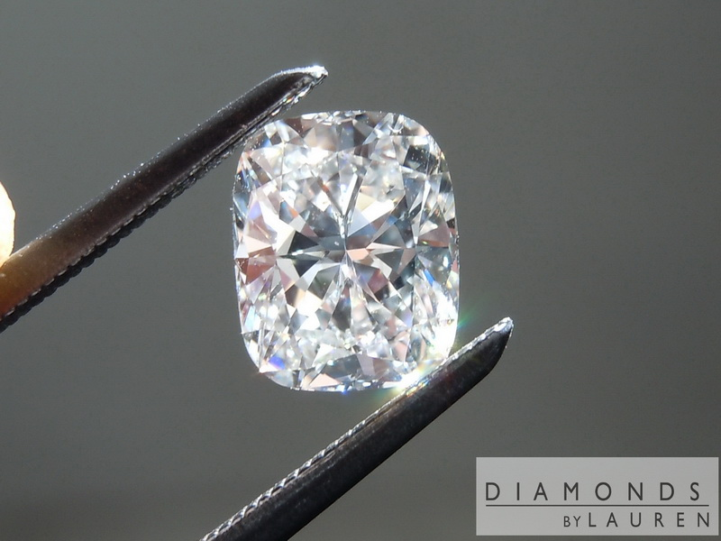 natural colorless diamond