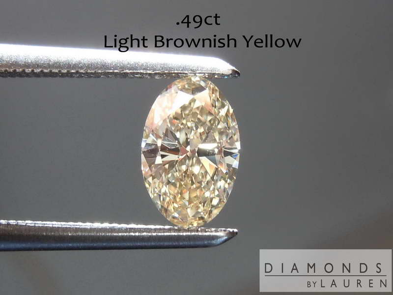 brownish yellow diamond