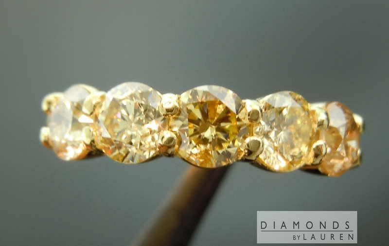 fancy color diamond ring