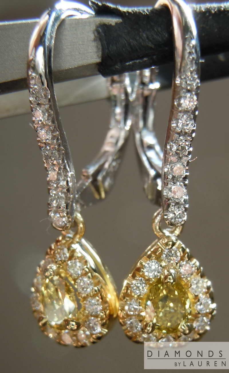 canary earrings