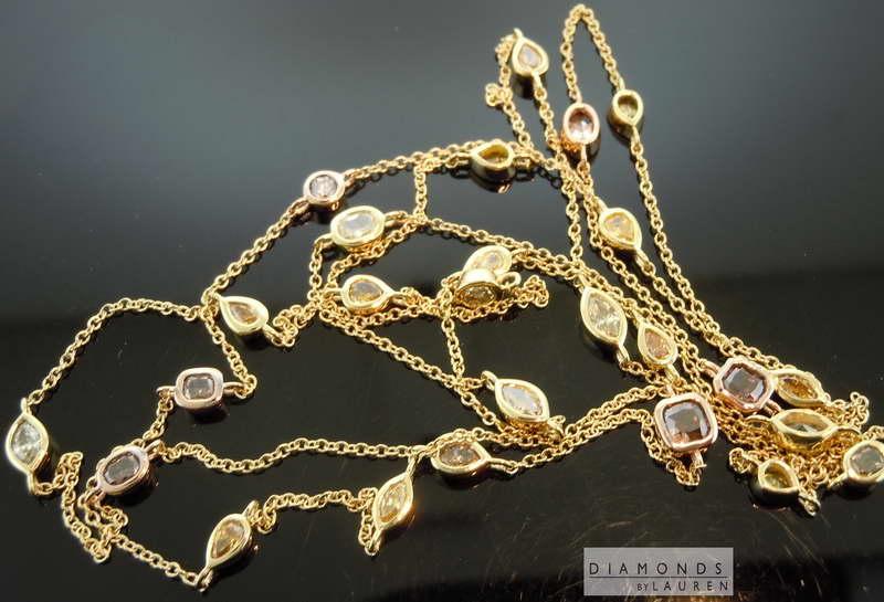 yellowdiamond necklace